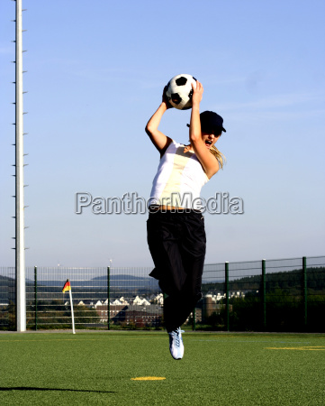 woman with ball ii