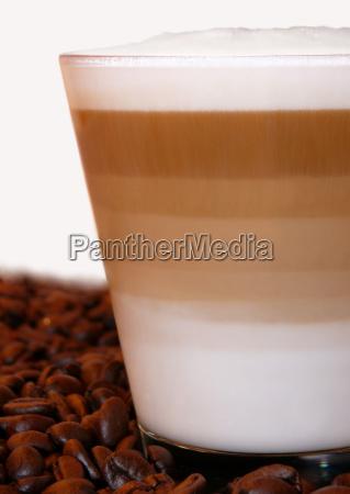 verfuehrerischer latte macchiato