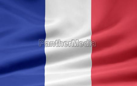 franzoesische flagge