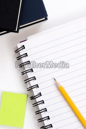 bleistift, auf, notebook - 1124969