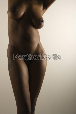nude female body