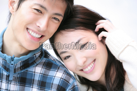 japanese young couple