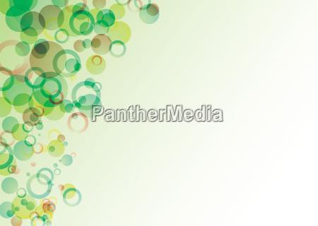bubble float green