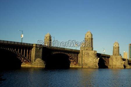 bridge over a river longfellow bridge