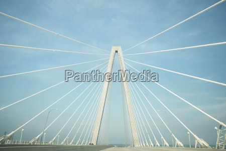 road on a suspension bridge cooper