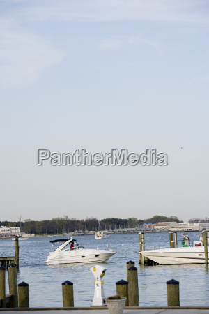 boats in water annapolis maryland usa