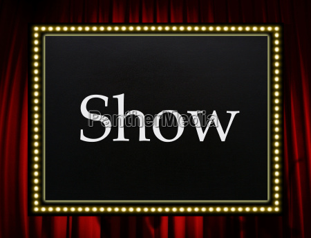 show entertainment concept