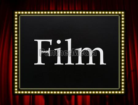 film entertainment concept