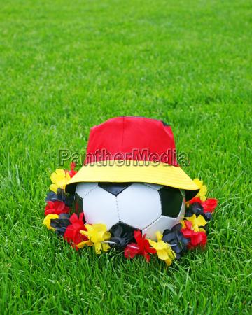 fussball fan concept soccer