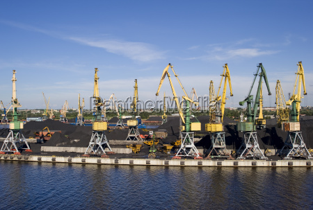 industrial freight port