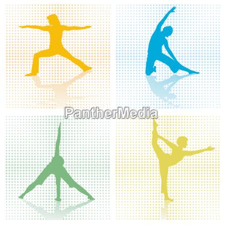 4 x gymnastik studio