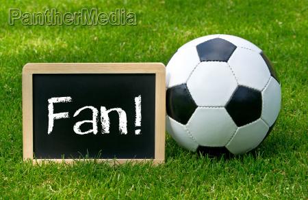 fussball fan soccer fan