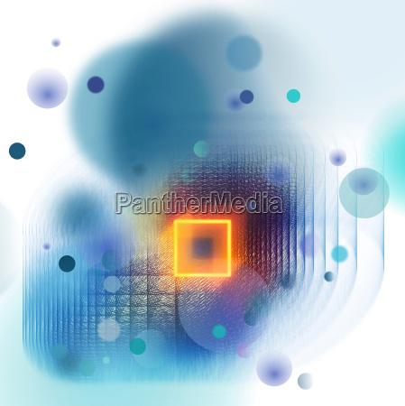 abstrakt technologie neon
