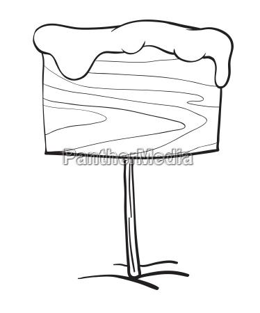 a board sketch