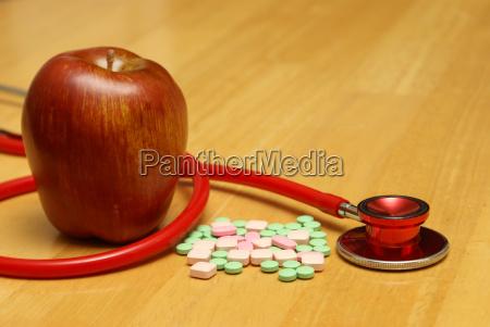 arzt mediziner medikus essen nahrungsmittel lebensmittel