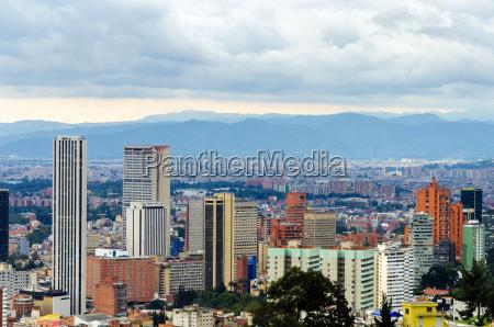 bogotakolumbien skyline