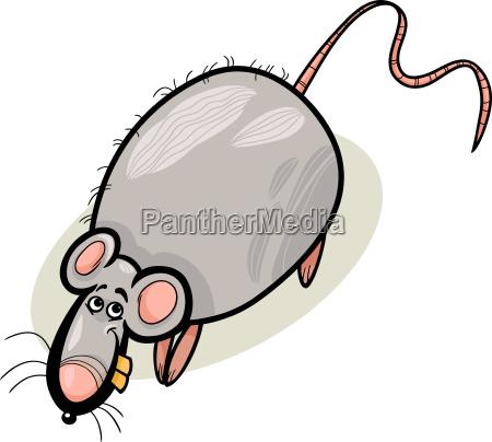 rat cartoon character illustration