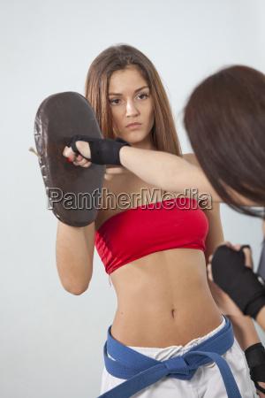 fitness punching training