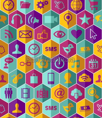 app icon set pattern