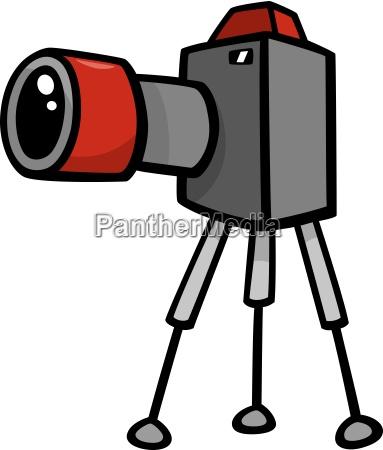 camera clip art cartoon illustration