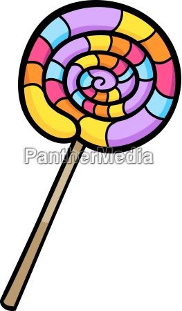 lollipop clip art cartoon illustration