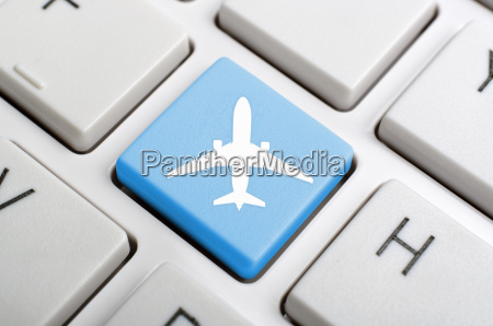 airport symbol on keyboard