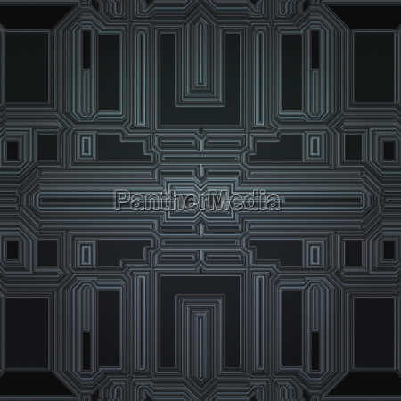 seamless spaceship panel