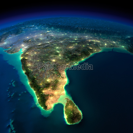 night earth india and sri lanka