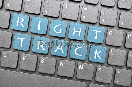 right track key on keyboard