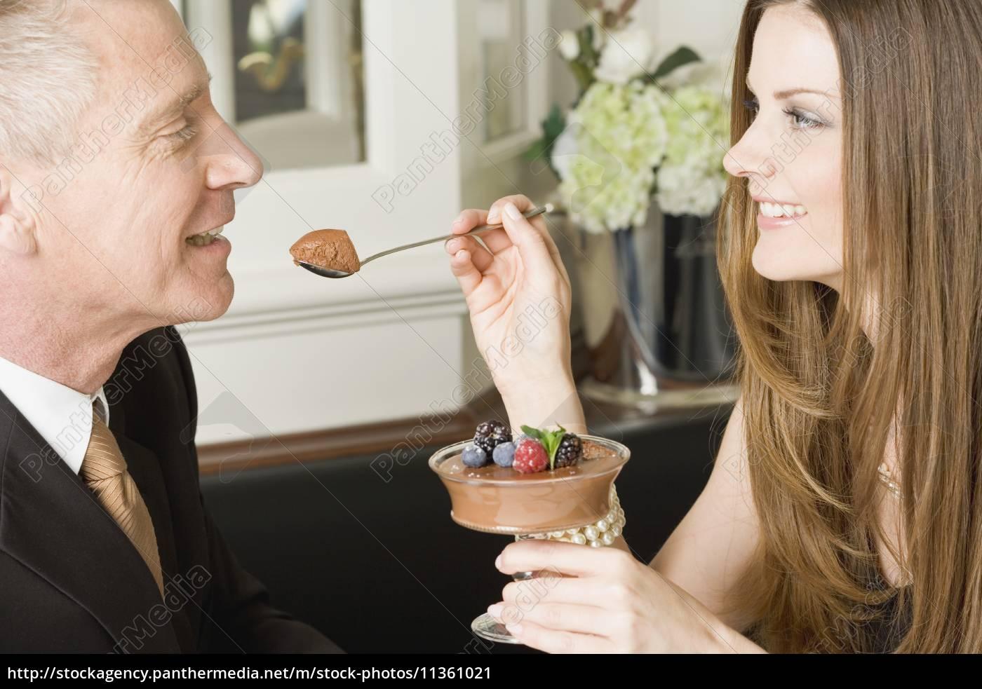 frau, restaurant, profil, menschen, leute, personen - 11361021