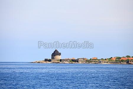 fort christiansoe wyspa bornholm dania