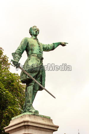 statue of charles xii karl xii
