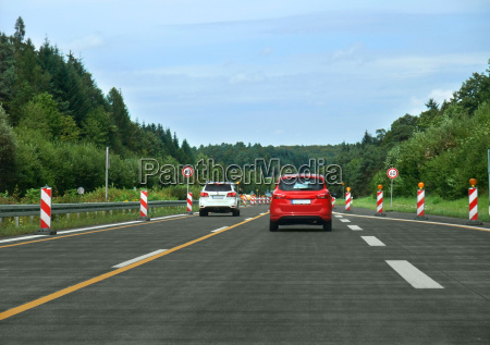 interstate scenery in germany