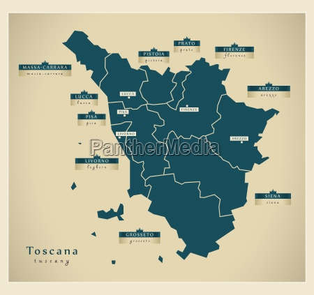 moderne landkarte toscana it