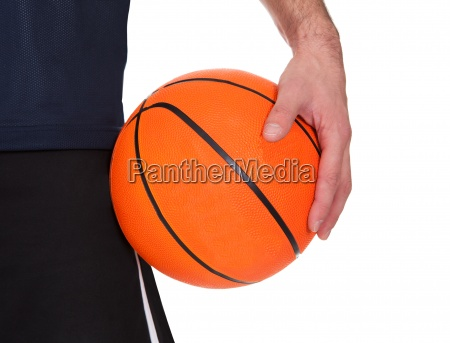 portrait of professional basketball player