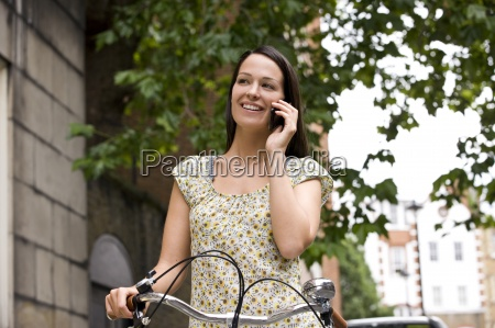 woman conversation telephone phone talk speaking