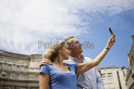 woman close telephone phone laugh laughs