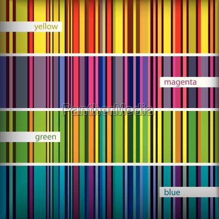 seamles pattern stripes set vector