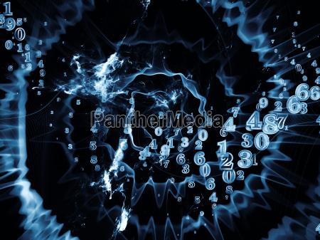 numeric data cloud