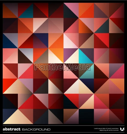 abstract colorful triangles background vector