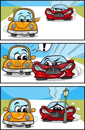 cars cartoon comic story