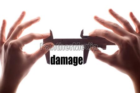 small damage