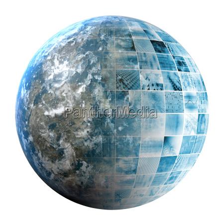 business technology global network