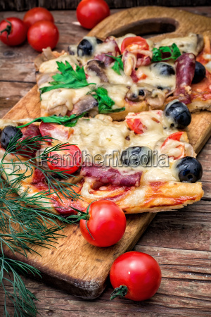 fleisch pizza