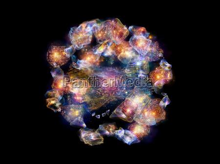 colorful poem fragments