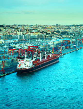 lisbon industrial port portugal