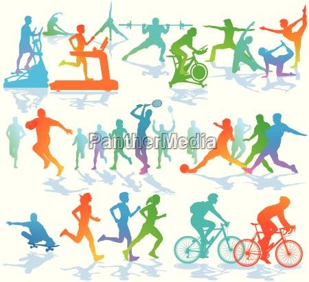 fitness und sport