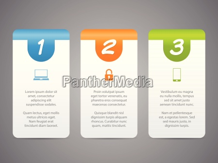 infographic labels with cool icons and