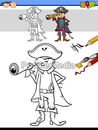 preschool drawing and coloring task