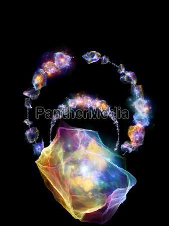 glow of jewels
